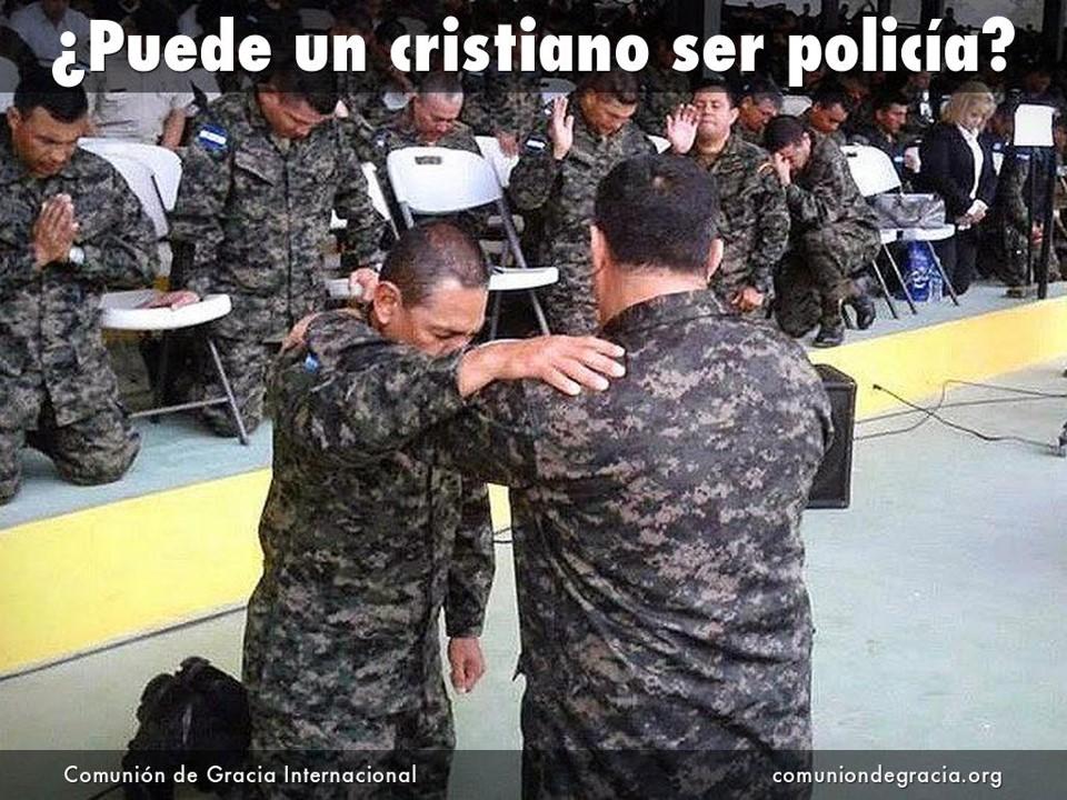 Puede un cristiano ser policia